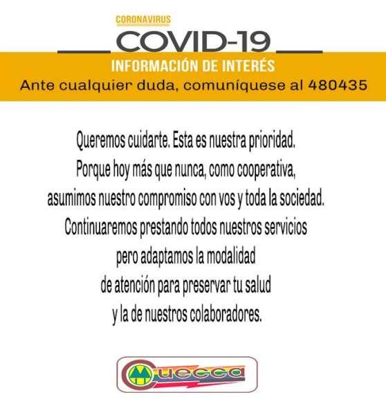 CUECCA HABILITÓ OPERACIONES COMERCIALES ON LINE
