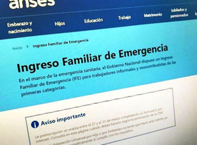 IFE: ordenan fechas para la carga de medios de pagos de los 10.000 pesos