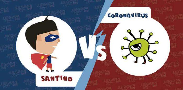 Crean un juego de descarga Gratuita para enseñarle a los niños más pequeños sobre el CORONAVIRUS