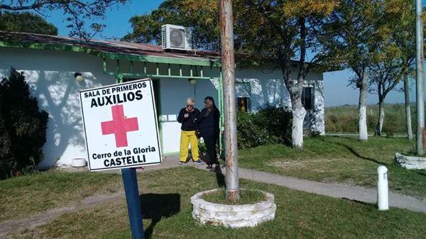 Cerro de la Gloria: aplicaron la vacuna antigripal a toda la población del paraje