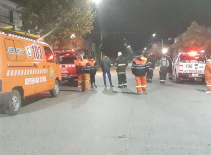 """""""Nube toxica"""": tres personas fueron asistidas por personal hospitalario"""