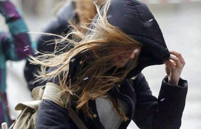 Emiten un alerta por vientos intensos con ráfagas para el martes