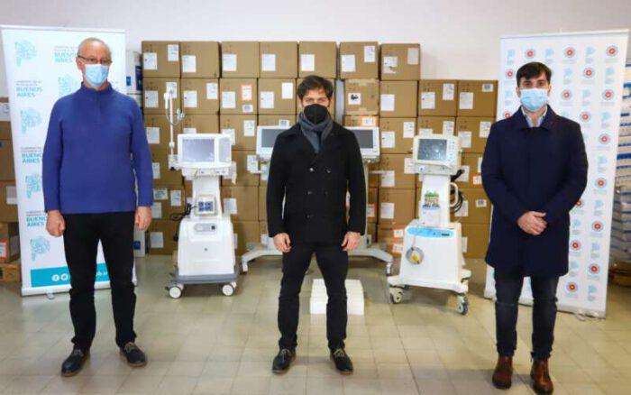 En medio de la pandemia el gobierno bonaerense entregó 170 respiradores, uno para Castelli