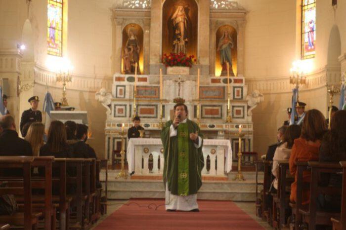 Padre Damian: «desde este sábado comenzamos con la celebración patronal»