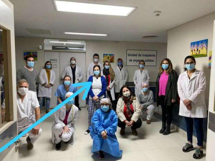Joven médica de Castelli participó de dos exitosos trasplantes en el Hospital de Niños de La Plata