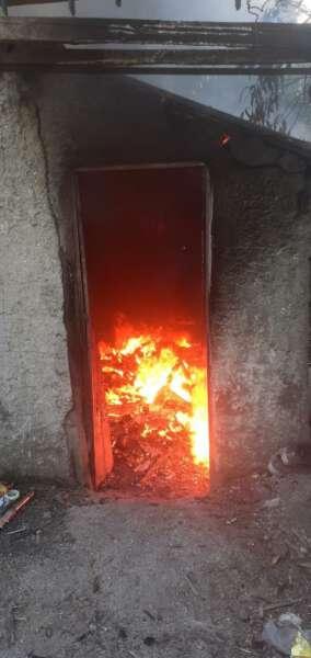 Las pericias confirmaron que el incendio de ayer fue intencional