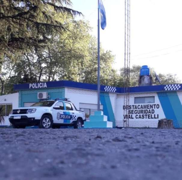El Jefe del Destacamento Vial Castelli confirmó que habrá operativos para qué vecinos puedan cruzar al barrio Mejías o a cargar combustible