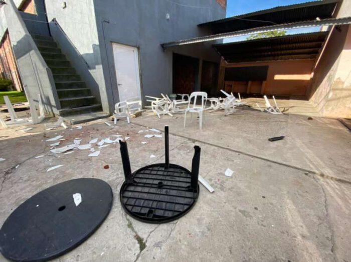 Identifican a los autores de los daños en Deportivo: son menores