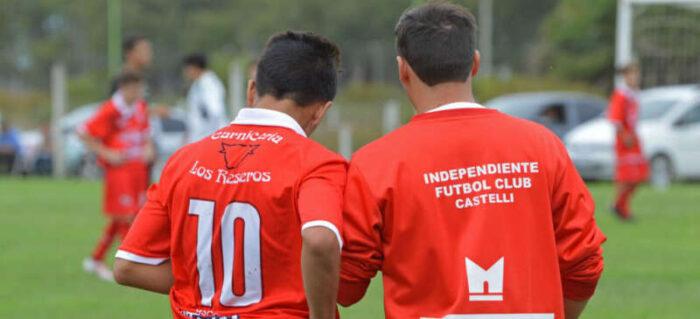 Fútbol: amistoso por el aniversario del Rojo. Independiente recibió al Club Social y Deportivo Pila